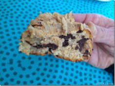 Baked quest bar topped with PB2 Clean Eating Sweets, Eating Healthy, Quest Bars, Nom Nom, Healthy Living, Muffin, Keto, Snacks, Baking