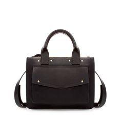 CITY BAG WITH POCKET - Handbags - Woman | ZARA United States