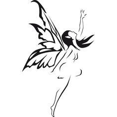 Vinilo decorativo Hada volando