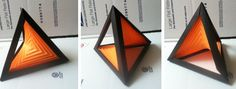 hyperbolparaboloid and Tetrahedron - super cool origami!!