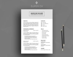 Are you looking for a new job or a new career? SuperCV is ready to help you! Two things sell you to a company: your resume and your personality during