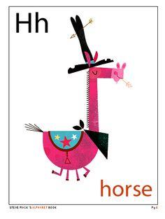Alphabet Book illustrated by Steve Mack
