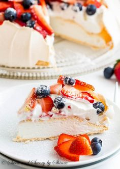 Pavlova Classic Pavlova is airy, light and absolutely delicious dessert cake that you will be making over and over again.Classic Pavlova is airy, light and absolutely delicious dessert cake that you will be making over and over again. Dessert Crepes, Coconut Dessert, Oreo Dessert, Brownie Desserts, Mini Desserts, Just Desserts, Delicious Desserts, Irish Desserts, Light Desserts