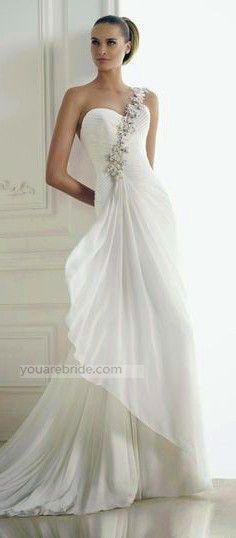 bridal dress; elegant dress