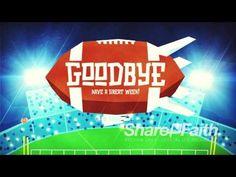 Super Sunday: Big Game Football Goodbye Video Loop - YouTube