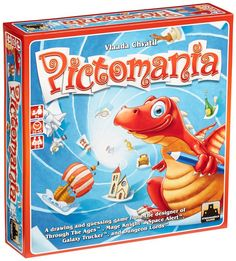 Best board games for older kids: you're drawing and guessing all at once with the rowdy Pictomania