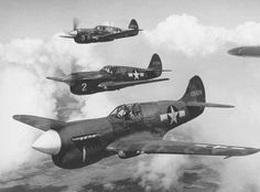 Warhawks in action 1943.