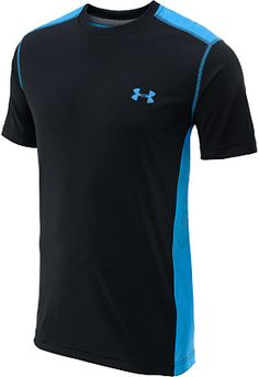 The UNDER ARMOUR® men's short-sleeve t-shirt features mesh panels that utilize light, stretchy, and durable fabric to deliver true breathability. #FathersDay