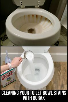 Borax Cleaning, Diy Home Cleaning, Bathroom Cleaning Hacks, Homemade Cleaning Products, Household Cleaning Tips, Deep Cleaning Tips, House Cleaning Tips, Household Cleaners, Green Cleaning Recipes