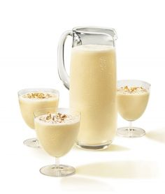 Lets make eggnog. Recipe: http://blog.worldluxurytourism.com/2012/12/06/christmas-recipes.html#  #Christmas #food