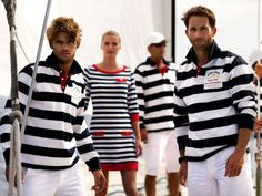All the nice girls love a sailor #YachtWorldCharters #YWC #NauticalFashion