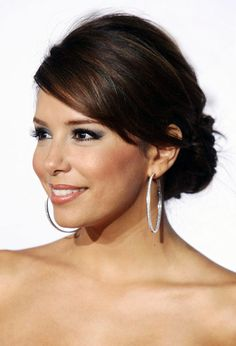 Eva Longoria Formal Updos Hairstyle