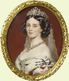 Augusta of Saxe-Weimar. 1861. Anton Hähnisch · Given to Queen Victoria