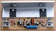 Resultado de imagem para amplificador de potencia com alta carga de saida