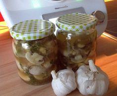 Rezept Eingelegte Pilze Champignons in Weißwein & Knoblauch Geschenk Mitbringsel von somdie1611 - Rezept der Kategorie Beilagen