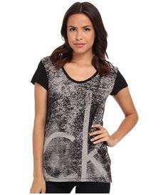 Calvin Klein Jeans Calvin Klein Jeans  Textured Logo Tee Womens Shirt for 24.99 at Im in! #sale #fashion #I'mIn