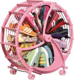 This Rakku shoe wheel is pretty cool for any kids room.