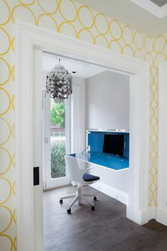 Brooklyn Townhouse - contemporary - Home Office - New York - Robert Granoff
