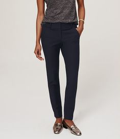 Image of Essential Skinny Ankle Pants in Julie Fit (or: ann taylor loft ankle pants)