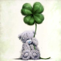 I liked the detail in this shamrock for a coloring example.