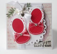 baby shoes card - bjl