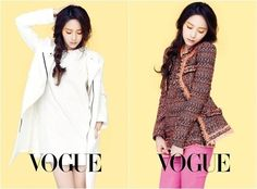 f(x)'s Krystal is chic and sophisticated for 'VOGUE'