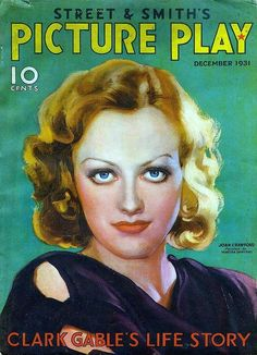 Joan Crawford on the cover of Picture Play