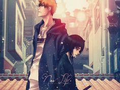 [BLEACH] ilustrações de acoplamento resumo de Kurosaki Ichigo × Kuchiki Rukia [IchiRuki] - Resumo NAVER