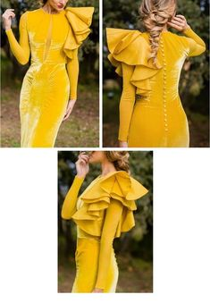 Shop sexy club dresses, jeans, shoes, bodysuits, skirts and more. Hijab Fashion, Fashion Dresses, Dress Outfits, Dress Up, Evening Dresses, Formal Dresses, Velvet Fashion, Lovely Dresses, Couture Dresses