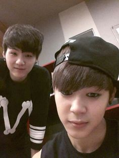 Sorry Jimin, but I can only look at Suga.. Gosh he's so cute...