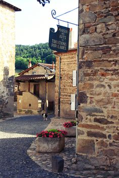 Lavaudieu - Haute-Loire dept. - Auvergne region, France