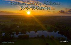 Baldwin County, Alabama 9/6/16 Sunrise.  Photographer-John Oldshue.