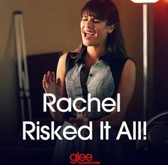 """""""The Back-Up Plan"""" - Some say that big risks reap big rewards. Which path do you think Rachel will choose on Tuesday's new Glee? Glee Cast, It Cast, The Back Up Plan, Rachel Berry, Lea Michele, Movies Showing, Tv Shows, Glamour, Singer"""
