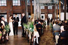 Brooklyn Loft Wedding - Grey Likes Weddings