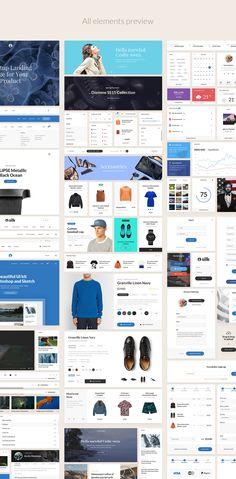 Silk UI Kit on Web Design Served
