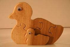 Momma and baby duck fully customizable puzzle. $6.00, via Etsy.