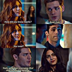I want to stay caught up on all things shadowhunters because that is my favorite book and TV show series Clary Et Jace, Alec And Jace, Shadowhunters Tv Show, Shadowhunters The Mortal Instruments, The Dark Artifices, Cw Series, Book Series, David Castro, Kat Mcnamara