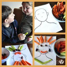 Arts avec les fruits  légumes