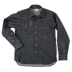 Tellason Denim Shirt: Alternate View #1