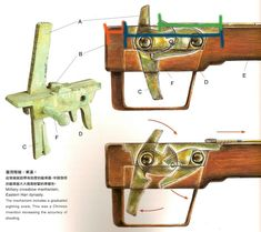 Ancient Chinese crossbow trigger system found with the Terracotta Warriors.