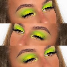 (New) The 10 Best Eye Makeup Today (with Pictures) - used our Pure Neon Pigments Bright Eye Makeup, Colorful Eye Makeup, Makeup For Green Eyes, Blue Eye Makeup, Smokey Eye Makeup, Soft Makeup, Eye Makeup Cut Crease, Eye Makeup Art, Eye Makeup Tips