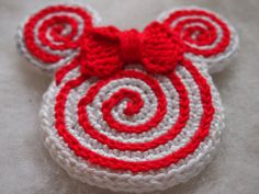 Christmas Ornament Mickey Mouse Minnie от ColorfulEasyCrochet