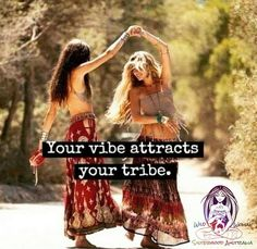 Your vibe attracts your tribe... ✨ what surrounds you, is but a reflection of your thoughts