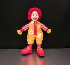 Ronald McDonald Doll by bobbys vintage boutique. $20.00.