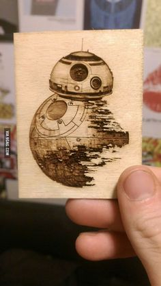 BB-8 and Death Star fusion!