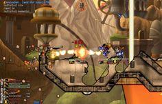 Combates em Gunbound http://artigosetutoriais.blogspot.com.br/