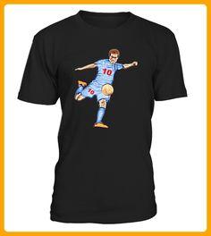 Soccer player with number 10 - Tischtennis shirts (*Partner-Link)