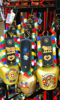 Souvenir shop in Lucerne, Switzerland