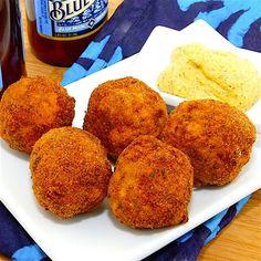 is the little fried sauerkraut ball. These ping-pong-sized sauerkraut ...