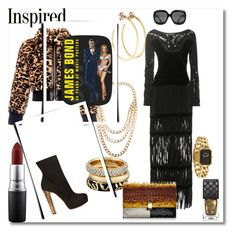 """""""THE BOND BABES: DON'T LET THE SMOOTH TASTE FOOL YA"""" by g-vah-styles ❤ liked on Polyvore featuring Jill Platner, NLY Accessories, Michael Kors, Marc by Marc Jacobs, Tom Ford, Proenza Schouler, James Bond 007, Chanel, MAC Cosmetics and Christian Louboutin"""